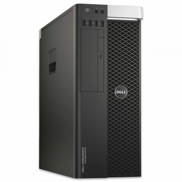Dell Precision T5810 - Xeon E5-1607 v3 @ 3,1 GHz - 16GB RAM - 500GB HDD - DVD-RW - Nvidia Quadro K4200 - Win10Pro