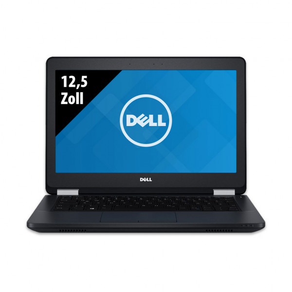 Dell Latitude E5270 - 12,5 Zoll - Core i5-6300U @ 2,4 GHz - 8GB RAM - 256GB SSD - FHD (1920x1080) - Win10Pro