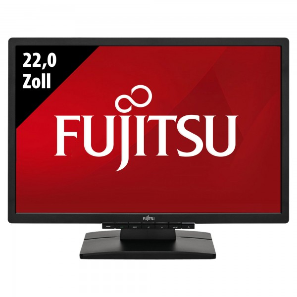 Fujitsu Display B22W-6 LED - 22,0 Zoll - WSXGA (1680x1050) - 5ms - schwarz