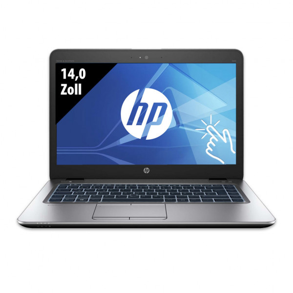 HP EliteBook 840 G3 - 14,0 Zoll - Core i5-6200U @ 2,3 GHz - 16GB RAM - 250GB SSD - FHD (1920x1080) - Touch - Webcam - Win10Pro A