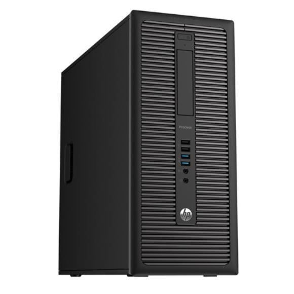 HP EliteDesk 800G1- Intel Pentium G3220 @ 3,0 GHz - 4GB RAM - 120GB SSD + 500GB HDD - Win10Home