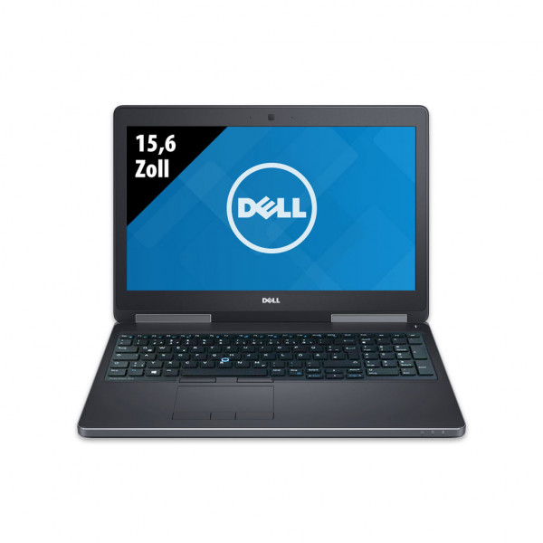 Dell Precision 7520 - 15,6 Zoll - Core i7-6820HQ @ 2,7 GHz - 16GB RAM - 500GB SSD - Nvidia Quadro M1200 - FHD (1920x1080) - Win10Pro