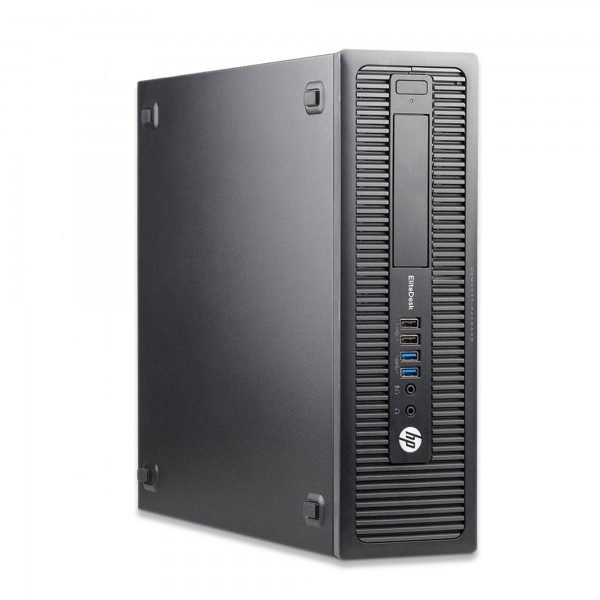 HP EliteDesk 800 G1 SFF - Core i7-4790 @ 3,6 GHz - 32GB RAM - 250GB SSD - Win10Home