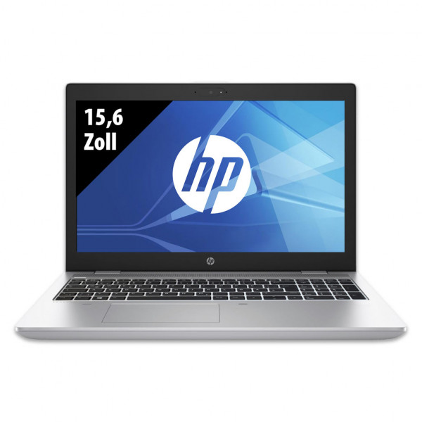 HP ProBook 650 G4 - 15,6 Zoll - Core i5-8350U @ 1,7 GHz - 8GB RAM - 512GB SSD - FHD (1920x1080) - Webcam - Win10Pro A