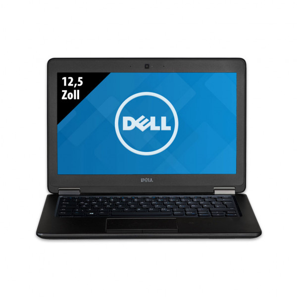 Dell Latitude E7250 - 12,5 Zoll - Core i5-5300U @ 2,3 GHz - 8GB RAM - 480GB SSD - WXGA (1366x768) - Webcam - Win10Home A