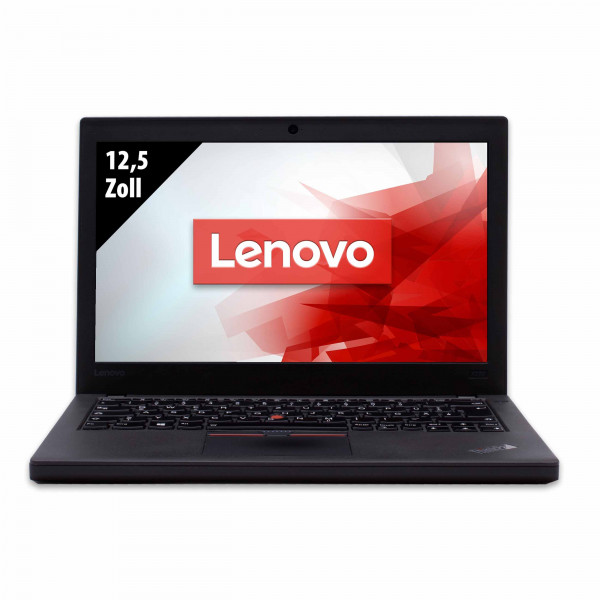 Lenovo ThinkPad X270 - 12,5 Zoll - Core i5-7300U @ 2,6 GHz - 8GB RAM - 500GB SSD - FHD (1920x1080) - Webcam - Win10Home B