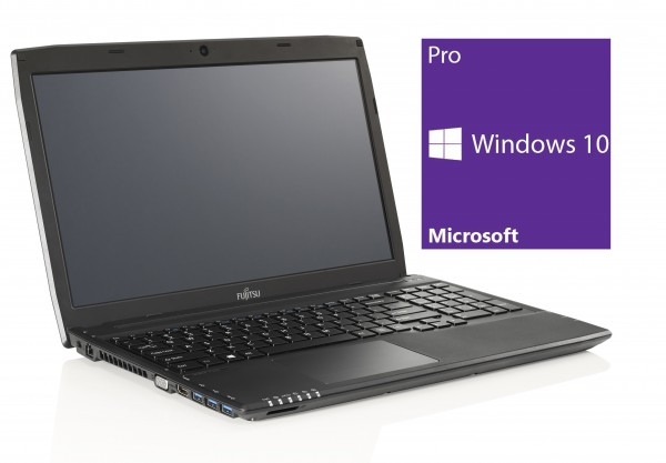 Fujitsu Lifebook A514 - Core i3-4005U @ 1,7 GHz - 4GB RAM - 500GB HDD - DVD-RAM - Win10Pro