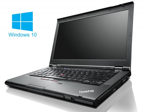 Lenovo T430 - Core i5-3320M @ 2,6 GHz - 8GB RAM - 128GB SSD - DVD-RAM - Win10 Home