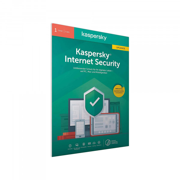 Kaspersky Internet Security - Lizenz Upgrade für 1 Gerät