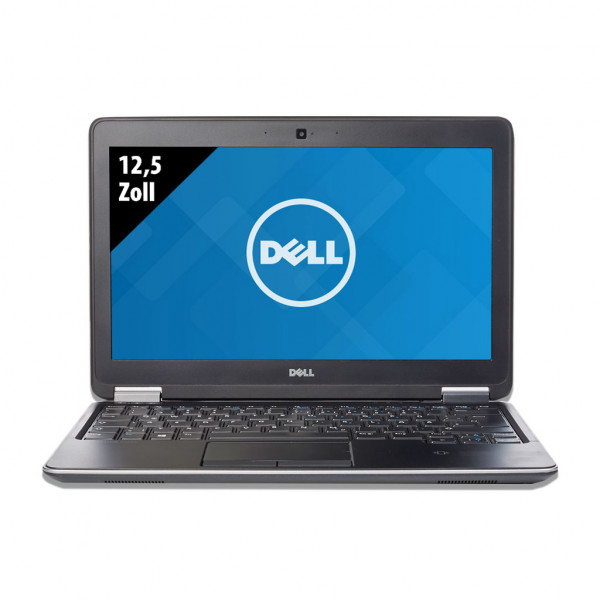 Dell Latitude E7240 - 12,5 Zoll - Core i5-4300U @ 1,9 GHz - 8GB RAM - 256GB SSD - WXGA (1366x768) - Webcam - Win10Home A