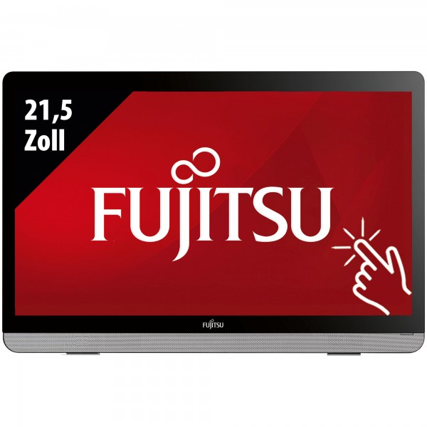 FUJITSU Display E22 Touch - 21,5 Zoll - FHD (1920x1080) - 7ms - schwarz