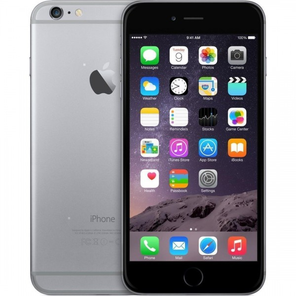 Apple iPhone 6 - 16GB - spacegrau