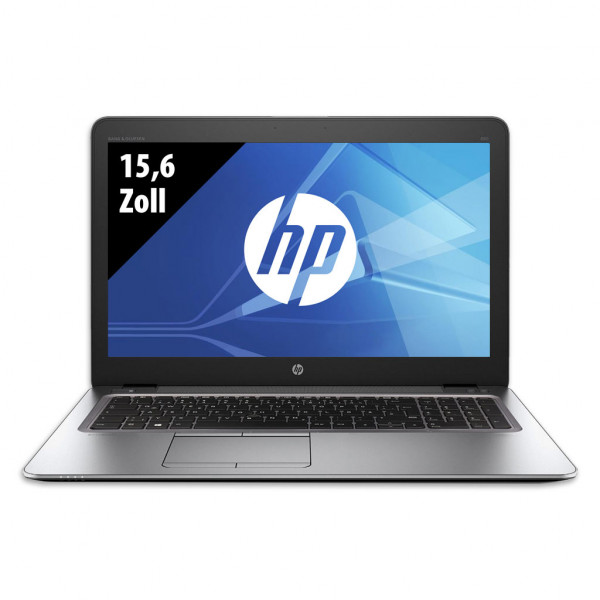 HP Elitebook 850 G3 - 15,6 Zoll - Core i5-6300U @ 2,4 GHz - 8GB RAM - 256GB SSD - WXGA (1366x768) - Win10Home B