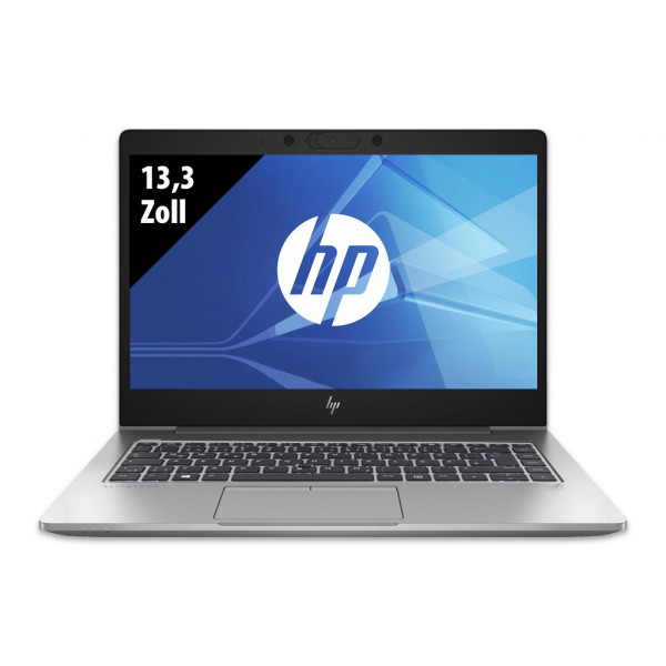 HP EliteBook 830 G5 - 13,3 Zoll - Core i5-8350U @ 1,7 GHz - 8GB RAM - 512GB SSD - FHD (1920x1080) - Win10Home