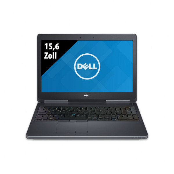 Dell Precision 7510 - 15,6 Zoll - Core i7-6820HQ @ 2,7 GHz - 16GB RAM - 512GB SSD - Nvidia Quadro M1000M - FHD (1920x1080) - Win10Pro