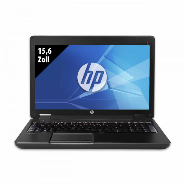 HP ZBook 15 G2 - 15,6 Zoll - Core i7-4810MQ CPU @ 2,8 GHz - 16GB RAM - 256GB SSD - WXGA (1366x768) - Win10Pro B