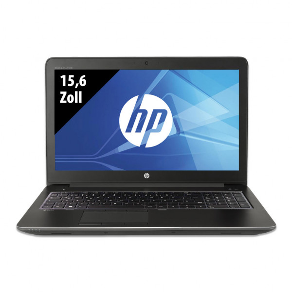 HP ZBook 15 G3 - 15,6 Zoll - Core i7-6820HQ @ 2,7 GHz - 16GB RAM - 512GB SSD - Nvidia Quadro M1000M - FHD (1920x1080) - Webcam - Win10Pro A